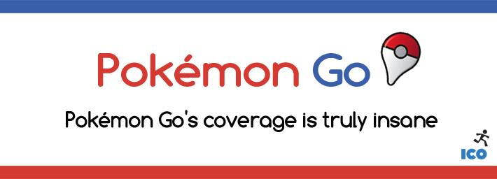 Pokemon Go media coverage is truly insane